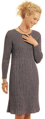 """""""Anna"""" dress, Berroco free knitting pattern."""