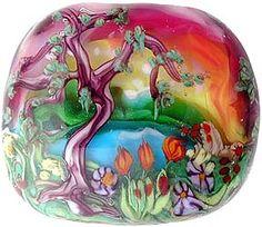 Pati Walton Lampwork Beads Murrine