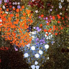 """""""Let us be grateful to the people who make us happy; they are the charming gardeners who make our souls blossom."""" Marcel Proust Klimt"""