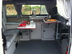 A romantic dinner in a Westy