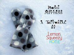 Long Mittens - A Tutorial