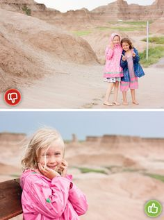 3½ Ways to ROCK Family Vacation Photos *watch for random poles or signs in the background