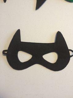 Batman Mask  felt by sarahandjill on Etsy