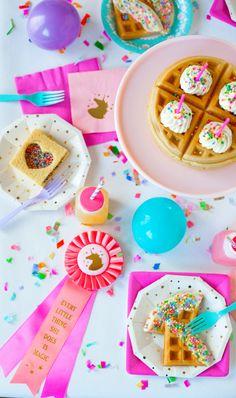Magical Unicorn Breakfast | The Sweet Lulu Blog