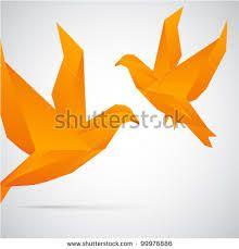 origami flying bird - Google Search
