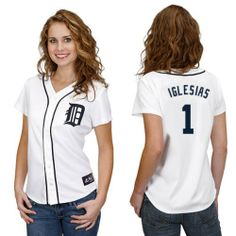 Jose Iglesias Detroit Tigers Home Women's Replica Jersey by Majestic Select Women's Size: Small Majestic,http://www.amazon.com/dp/B00F9FW0Q8/ref=cm_sw_r_pi_dp_oIcztb1FPN0NVSRM
