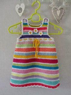 Bebek Örgü Örgü Elbise BEBEK ÖRGÜ MODELLERİ Kız bebek örgü elbisesi örülmüş örnekler ve resimler sunmaktayız Rokoko bebek...