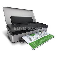 Hewlett Packard Officejet 100 Mobile Printer - USED
