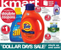 Kmart: Double Coupons Week