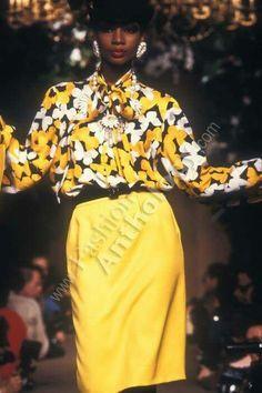Yves Saint Laurent | Spring 1983