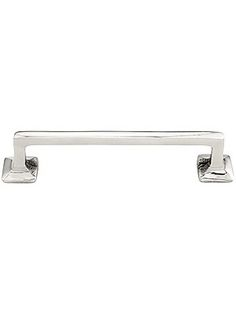 """Large Mission Style Drawer Pull - 4"""" Center to Center 