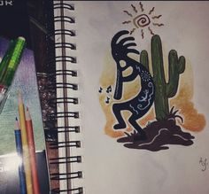 Kokopelli tattoo idea