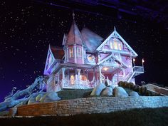 20 Best Coraline House Images Coraline Pink Palace Future House