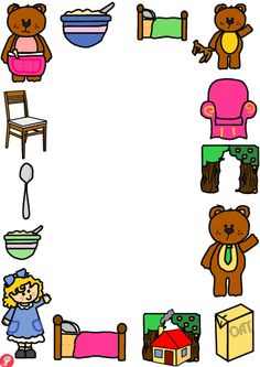 Goldilocks and the Three Bears Page Borders (Portrait) - An attractive set of 3 differentiated page boarders, with colourful images from Goldilocks and the Three Bears. Useful for a range of writing tasks related to this traditional tale. Why not download as part of our Goldilocks and the Three Bears pack? Also available in landscape format. Visit: www.justteachit.co.uk - FREE teaching resources!