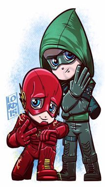 Download Flash and Arrow wallpapers to your cell phone - arrow dc drawing - 110604764   Zedge