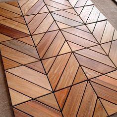 Dubai Ipe Champagne - Zigzag   Itauba Deck Tiles from Flex D…   Flickr