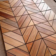Dubai Ipe Champagne - Zigzag | Itauba Deck Tiles from Flex D… | Flickr