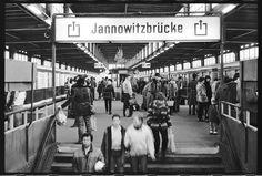 S-Bahnho Janowitzbruecke 1984