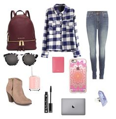 """""""💎💎💎💎💎"""" by briana-maria-simon on Polyvore featuring J Brand, MICHAEL Michael Kors, Illesteva, Journee Collection, Essie, NYX, Casetify, Furla and AstralEYE"""
