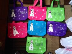 Olaf small tote bags
