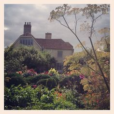 The gardens at amazing Charleston House- what an inspiration - @sibellacourt- on Instagram    Can't wait for this year's festival.
