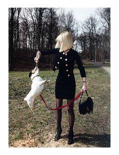 Eva Herzigova by Glen Luchford for Vogue Italia June 2011 *