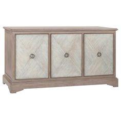 Gabby Ansley Parched Oak Cabinet @Zinc_Door