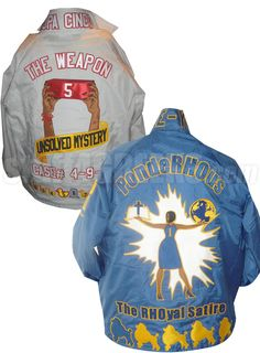 Deluxe Crossing Jacket: Includes Front, Sleeves, Collar, Back, Artwork on Back, and Bottom Icons