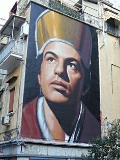 "https://flic.kr/p/yn5mZ5 | ""Saint January"" - murales (2015) by Jorit Agoch at Forcella in Naples | www.flickr.com/groups/napolinobilissima/discuss/721576330... www.napolidavivere.it/2015/09/19/street-art-a-forcella-il... www.jorit.it/"