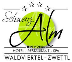 Schwarz Alm Logo Das Hotel, Restaurant, Logo, Steam Bath, Relaxing Room, Diner Restaurant, Restaurants, Dining
