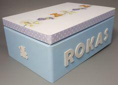 Personalized Baby Keepsake and Memory Box от CozyHandicrafts