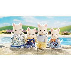 "Calico Critters Silk Cat Family -  International Playthings - Toys""R""Us"