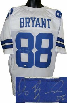 470b4f3a8 Dez Bryant signed Dallas Cowboys White Prostyle Jersey- JSA Hologram .   261.63. The Cowboys