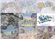 Master Plan, City Photo, Boston, Architecture Layout