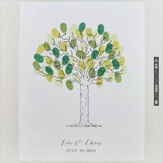 free tree thumbprint guest book printable | CHECK OUT MORE IDEAS AT WEDDINGPINS.NET | #printableweddingtemplates