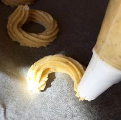 Dán vajas keksz Mester süteménylisztből - Sütemények - Gluténmentes övezet - blog Banana, Fruit, Blog, Bananas, Blogging, Fanny Pack