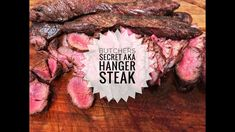 Best Steak I've ever eaten ~ Butchers Secret AKA Hanger Steak Hanger Steak, Best Steak, Smoking Meat, Food Industry, Grilling Recipes, Ribs, New Recipes, Food News, Blog