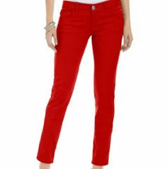 Rust colored skinny jeans Rust colored skinny jeans. The color is rich and the leggs are very skinny. Love these pants just cant wear them anymore. In great condition. 🌸 Celebrity Pink Jeans Skinny