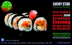 Lucky Star - Sushi adverts
