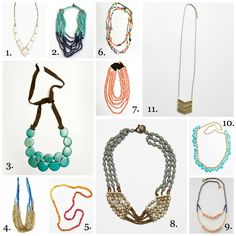 Noonday Collection Necklaces | The Turquoise Home - I bought #3 and just got it in the mail today!