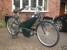 1939 Francis Barnett Powerbike 50 Autocycle 1939 Francis Barnett Powerbike Villiers 98cc Junior De Luxe engine.