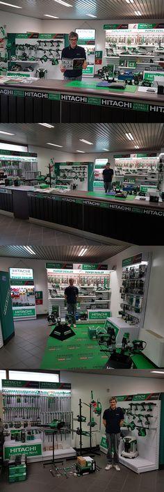 """Facciamo i complimenti al nostro rivenditore """"C.R.R."""" di Milano per la sua magnifica esposizione Hitachi! #hitachipowertoolsitalia #hitachipowertools #hitachi #powertools #wearehitachi #rivenditore #dealer #esposizione #showroom #passionehitachi #choosegreen #photo #worker #ferramenta #ironmongery #hardwarestore"""