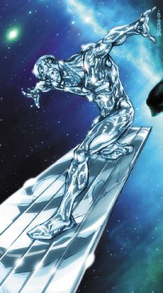 Silver Surfer by Mark Brooks