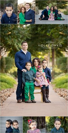 Family of 5 Posing, Family Holiday Session, What to Wear, Holly Davis Photography | The Woodlands, TX