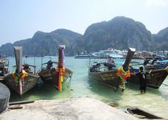 phuket, thailand. Places To Travel, Places To Go, Phuket Thailand, Places Ive Been, Vacations, Travelling, Boat, Country, Dinghy