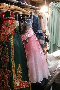 The Phantom of the Opera costumes - Christine's costumes