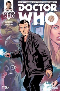 Doctor Who: The Ninth Doctor - Comics by comiXology Doctor Who 9, Doctor Who Comics, Doctor Who Quotes, Eleventh Doctor, Black Cat Comics, Danger Girl, Captain Jack Harkness, David Tennant Doctor Who, Rory Williams