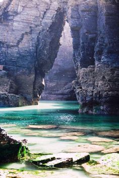 Cathedrals beach, Galicia, Spain So many pretty places Places To Travel, Places To See, Travel Destinations, Hidden Places, Travel Pics, Travel Ideas, Dream Vacations, Vacation Spots, Brazil Vacation