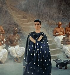 Debra Paget in The Indian Tomb (1959)   Raiders of the Lost Tumblr