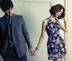 Jinwoon and Go Jun Hee for Marie Claire